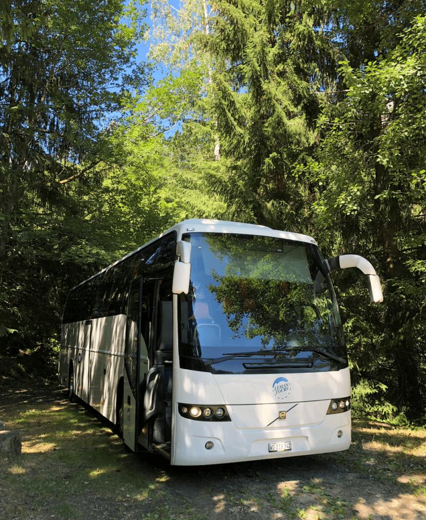 Location de bus sur Lausanne et Genève